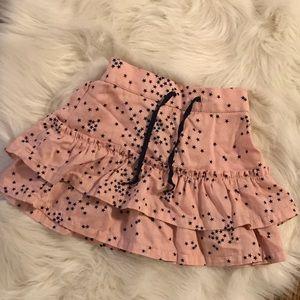 Baby Gap pale pink ruffle skirt NWOT